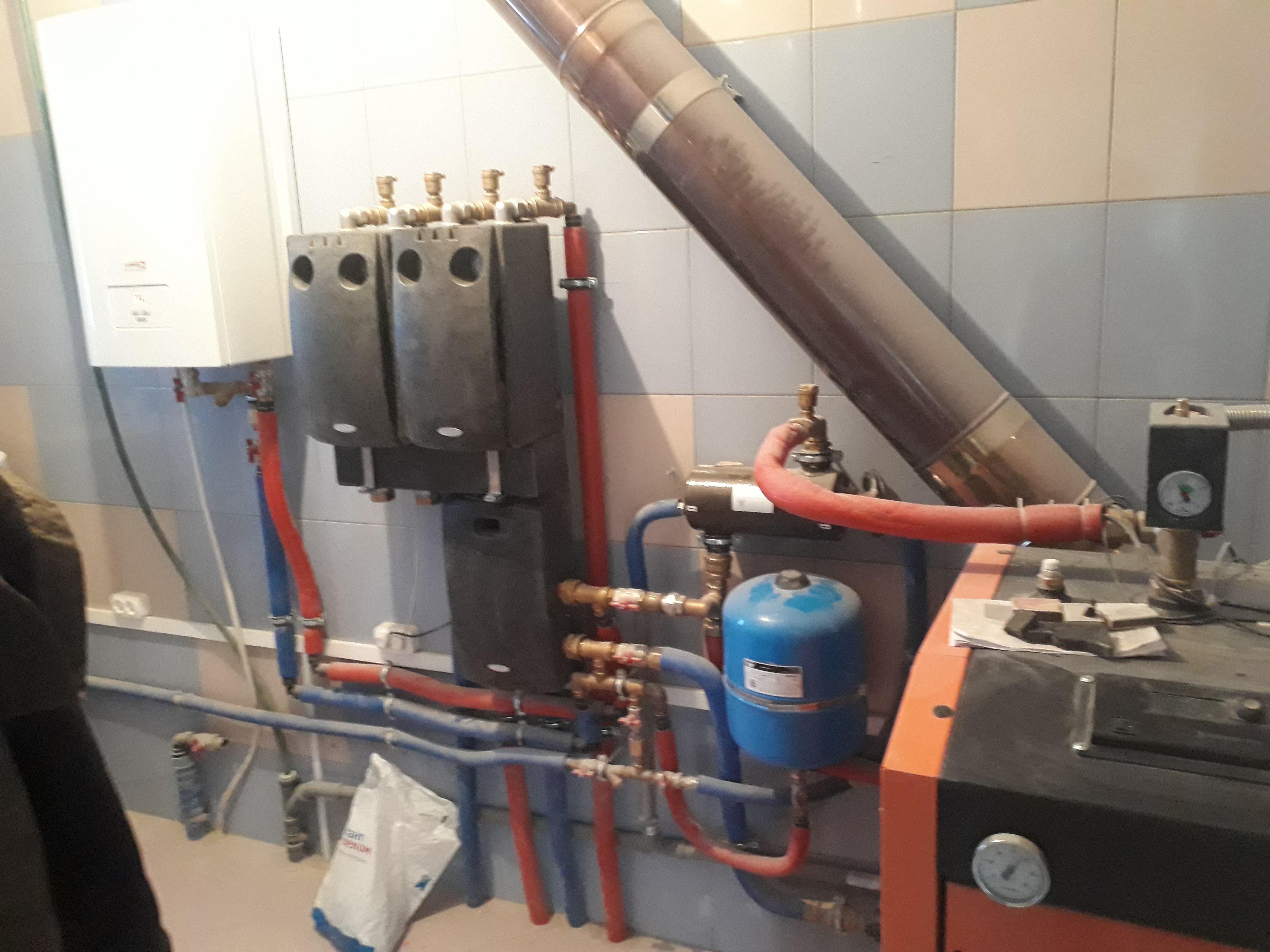 Монтаж систем отопления Минск и область