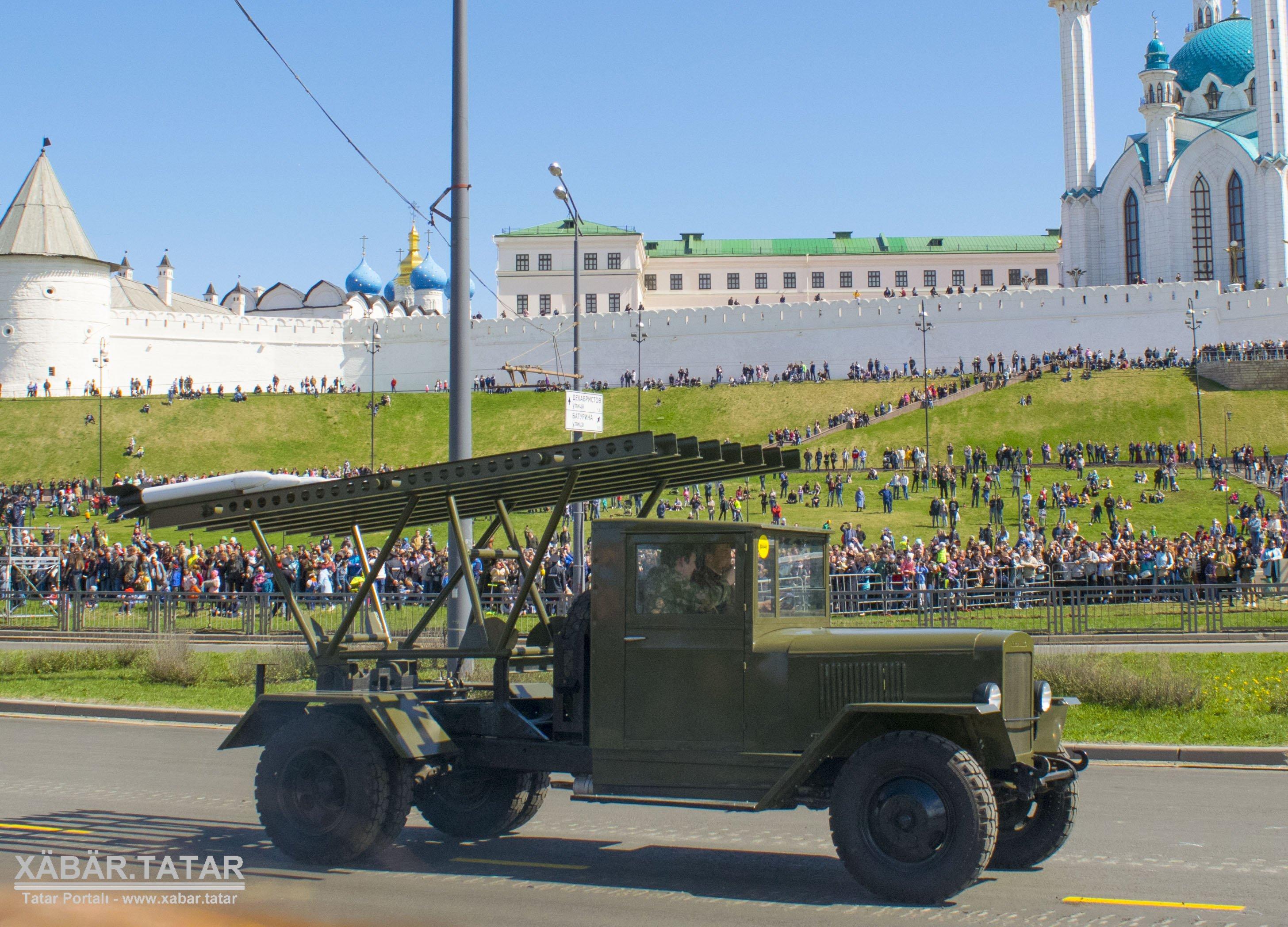 Парад Победы 2018 в Казани